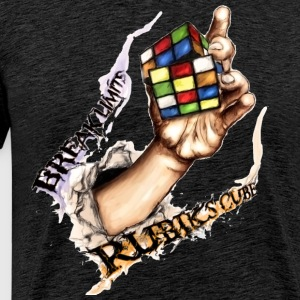 Rubik's Break Limits - T-shirt Premium Homme
