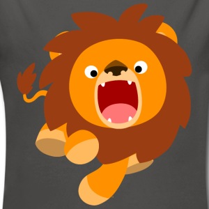 Cute Frisky Cartoon Lion by Cheerful Madness!! Baby Bodysuits - Longlseeve Baby Bodysuit