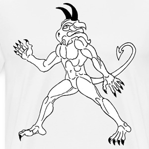 The Immaculate White Demon - Men's Premium T-Shirt