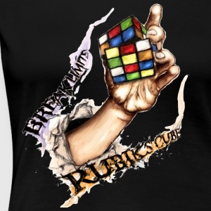 Rubik's Break Limits - Women's Premium T-Shirt
