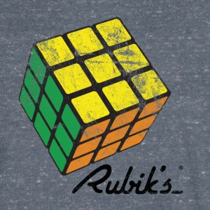 Rubik's Cube Vintage - Men's V-Neck T-Shirt