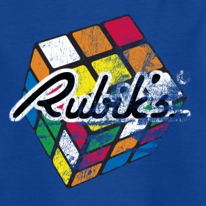 Rubik's Cube Distressed - T-skjorte for barn