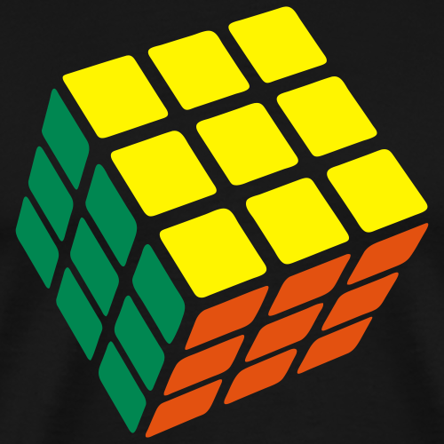 Rubiks - 3 Colour Cube - flex