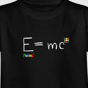 Rubik's E = mc - Kids' T-Shirt