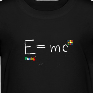 Rubik's E = mc - Teenager Premium T-Shirt