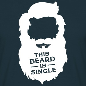 This Beard Is Single Koszulki - Koszulka męska