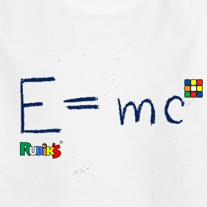 Rubik's E = mc Blue - Kids' T-Shirt