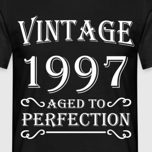 Vintage 1997 - Aged to perfection T-shirts - Herre-T-shirt