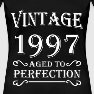 Vintage 1997 - Aged to perfection T-Shirts - Frauen Premium T-Shirt