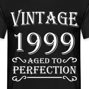 Vintage 1999 - Aged to perfection T-shirts - Mannen T-shirt