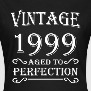 Vintage 1999 - Aged to perfection T-shirts - Dame-T-shirt