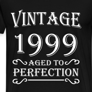 Vintage 1999 - Aged to perfection T-shirts - Premium-T-shirt herr