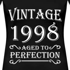 Vintage 1998 - Aged to perfection T-shirts - Vrouwen Premium T-shirt