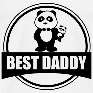 Best Daddy Dad Father Gift - Men's Premium T-Shirt
