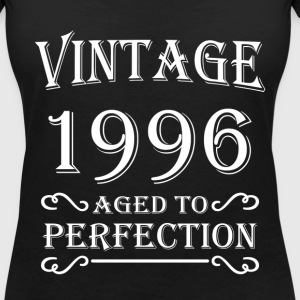 Vintage 1996 - Aged to perfection Camisetas - Camiseta con escote en pico mujer