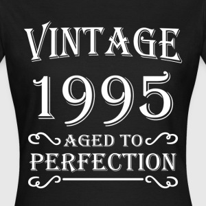 Vintage 1995 - Aged to perfection Camisetas - Camiseta mujer