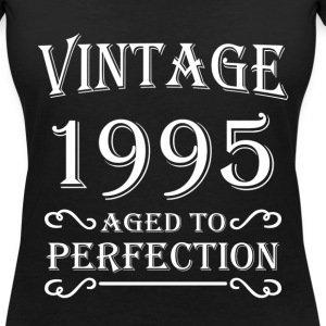 Vintage 1995 - Aged to perfection T-Shirts - Women's V-Neck T-Shirt