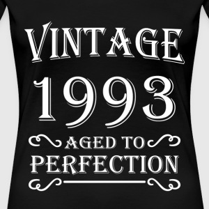 Vintage 1993 - Aged to perfection T-skjorter - Premium T-skjorte for kvinner