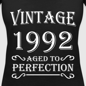 Vintage 1992 - Aged to perfection T-Shirts - Women's V-Neck T-Shirt