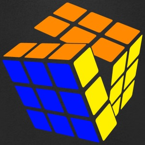 Rubik's Cube STB Solved - Men's V-Neck T-Shirt