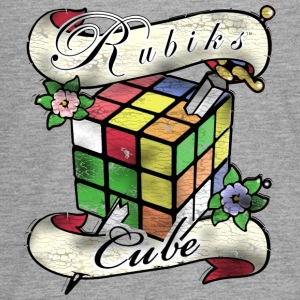 Rubik's Cube Tatoo - Teenagers' Premium Longsleeve Shirt
