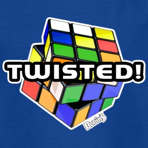 Rubik's Twisted! Cube Unsolved - Kinderen T-shirt