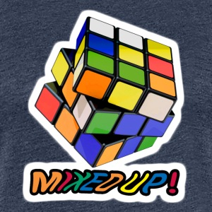 Rubik's Mixed Up! - Vrouwen Premium T-shirt