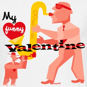 My funny valentine. jazz - Men's T-Shirt