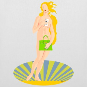 Modern day version of the birth of Venus - Tote Bag