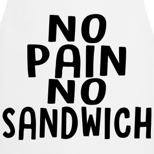 no pain no sandwich - Tablier de cuisine