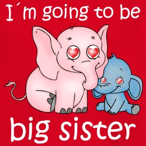 Going to be big sister - T-shirt barn