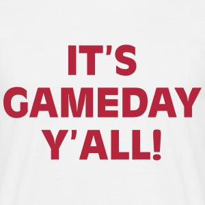 It's gameday Y'all T-Shirts - Men's T-Shirt