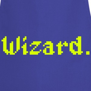 8 Bit Wizard Gamer Aprons - Cooking Apron
