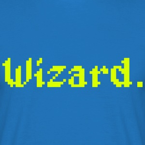 8 Bit Wizard Gamer T-Shirts - Men's T-Shirt