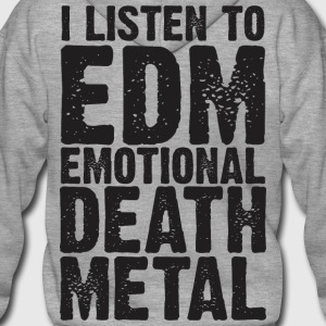 EDM EMOTIONAL DEATH METAL PREMIUM HOODIE - Men's Premium Hooded Jacket
