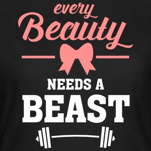 Beauty - Beast (Part 1) T-Shirts - Women's T-Shirt