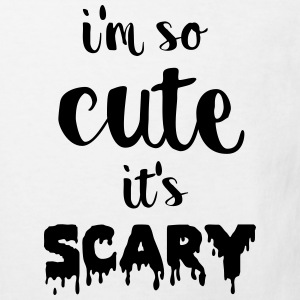 I'm so cute it's scary Shirts - Kinderen Bio-T-shirt