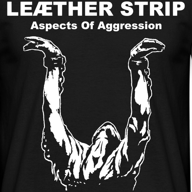 Leaether Strip - Aspects of Aggression : T-Shirt - black