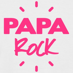 papa rock Tee shirts - T-shirt baseball manches courtes Homme