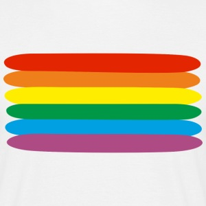 rainbow  T-shirts - Mannen T-shirt