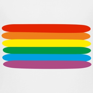 rainbow  Shirts - Teenage Premium T-Shirt