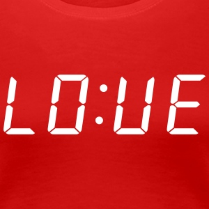 Time For Love T-shirts - Dame premium T-shirt