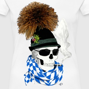 skull_Bayer T-Shirts - Frauen Premium T-Shirt