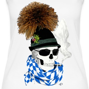 skull_Bayer Tops - Women's Organic Tank Top