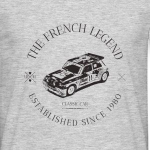 R5 TURBO2 FRENC CAR Tee shirts - T-shirt Homme