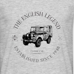 LAND ROVER ENGLISH CAR Tee shirts - T-shirt Homme