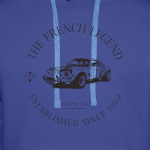 ALPINE RENAULT A110 FRENC Sweat-shirts - Sweat-shirt à capuche Premium pour hommes