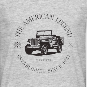 JEEP WILLYS AMERICAN CAR Tee shirts - T-shirt Homme