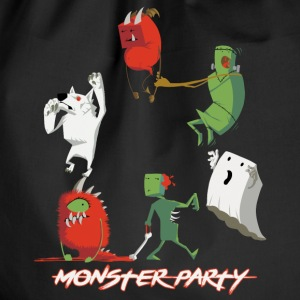 Monster Party - Turnbeutel
