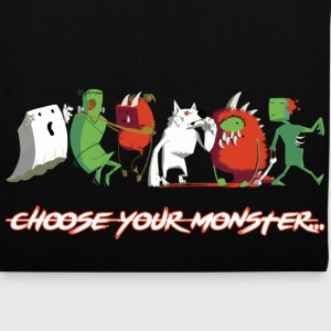 Choose Your Monster  - Stoffbeutel